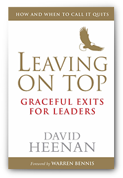 Book Cover: Leaving On Top - Graceful Exits for Leaders